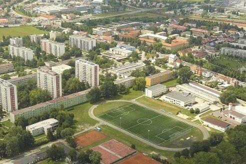 sportovní areál Otrokovice Trávníky